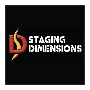 staging dimensions equipment